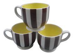 Henri Bendel Oversized Coffee Mugs