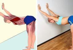 DEVE DURUŞU  İlgili kaslar: Karın ve abdominal dış oblik (karın bölgenizin yan ve ön kasları) kaslar. Görseldeki gibi diz üstünde durun, ellerinizi