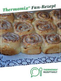 Zimtschnecken von Ein Thermomix ® Rezept aus der Kategorie Backen süß… Cinnamon buns from A Thermomix ® recipe from the Baking Sweet category www.de, the Thermomix® Community. Dessert Sans Gluten, Bon Dessert, Pancakes From Scratch, Pancakes Easy, Baking Recipes, Cake Recipes, Dessert Recipes, Pudding Desserts, Cinnamon Bread