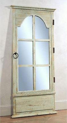 Porte Mirror -- This decorative (and functional) full-length mirror adds authentic charm to a rustic-themed room. | cort.com