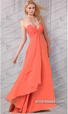 beautiful flowing beaded halter floor length chiffon prom gown.prom dresses,formal dresses,ball gown,homecoming dresses,party dress,evening dresses,sequin dresses,cocktail dresses,graduation dresses,formal gowns,prom gown,evening gown.