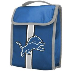 NFL Detroit Lions Velcro Lunch Bag by Forever Collectibles. $7.63. Detroit Lions Velcro Lunch Bag. Detroit Lions Velcro Lunch Bag