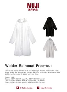 Welder Raincoat Free-Cut