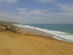 Playa, viento y arena