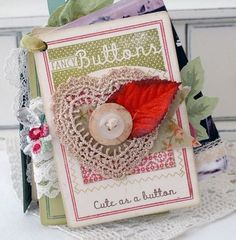 Papertrey Ink button card stamps, melissa phillips