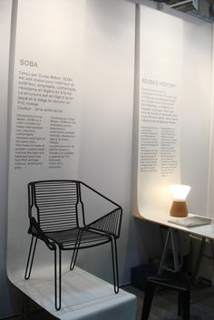 Maison & Objet 2012, Paris Soba Chair by Dunja Weber for PCM