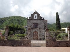 Small church in Ajijic, Jalisco, Mexico.