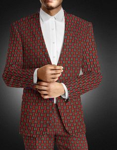 Projection: The end-result may vary slightly from the example. Suits are made withour tailors' creative discretion. Specific demands can be added in the order process.