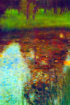 Gustav Klimt The Marsh Art Print Poster Posters by Gustav Klimt at AllPosters.com