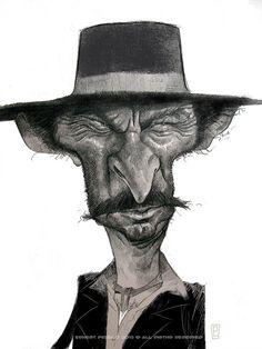 Lee Van Cleef by Ernesto Priego