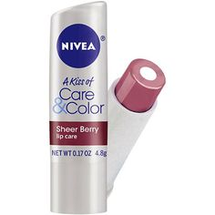 Nivea Kiss Of  Care & Color Sheer Berry