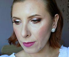 Makeup tutorial: wedding guest/bridal makeup look