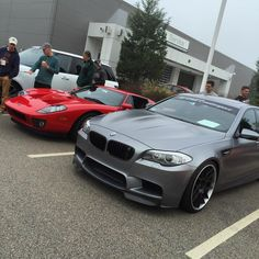 Turner M5 in good company at the Herb Chambers Cars & Coffee. -------------------------------------------------- #carsandcoffee #bmw #m5 #fordgt #herbchambers #turnerparts #turnermotorsport #bmwnation #bmwgram #bmwpic #mpower #carculture by turnermotorsport
