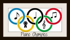 Heidi's Piano Studio: Piano Summer Olympic Events Incentive #pianoteaching