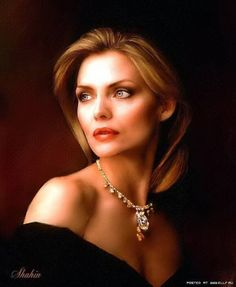 Michelle Pfeiffer by Shahin. How beautiful she is!