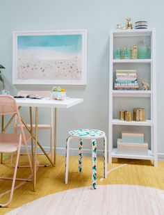 DIY Painted Chair...