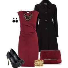 Necklace color combo with burgundy