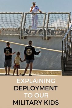 Explaining deployment to our military kids. military life can be hard to grasp for some of our military brats