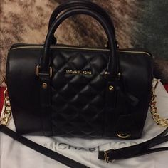 Michael kors quilted grayson satchel Brand new just took tags off, 100% authentic, smoke free, dustbag included Michael Kors Bags Satchels