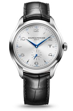 Discover the Clifton 10052 automatic watch for men, designed by Baume et Mercier, Swiss Watch Maker.