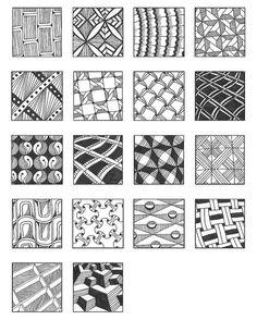 ZENTANGLE PATTERNS grid 10 | Flickr - Photo Sharing!