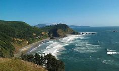 Short Beach from Cape Meares