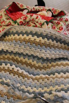 granny stripe..love the colors