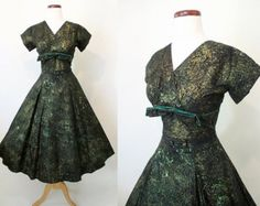 Stunning 1950's Designer Two Piece Suit by Lilli от wearitagain