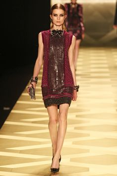 Roberto Cavalli RTW Fall 2013 - Slideshow - Runway, Fashion Week, Reviews and Slideshows - WWD.com