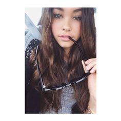 Madison Beer Beauty ❤ liked on Polyvore featuring girls, pics, hair and madison beer