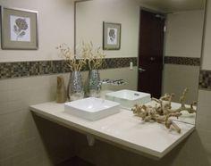 ADA Bathroom, simple elegant and compliant designed by Beth Katz, Katzdesigngroup