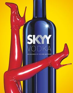 "SKYY Vodka ""Skin Tight"""