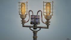 ArtStation - Street Light Asset, Aldo Arrieta