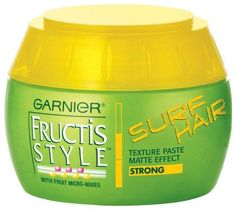 Garnier Fructis Style Surf Hair Texture Paste, 5.1000 Ounce***With fruit micro-waxes,Long-lasting hold,Creates windswept textured hairstyles,.