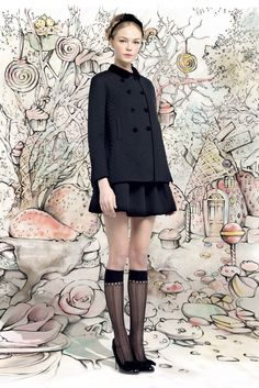 Red Valentino - Fall 2013 Ready-to-Wear - Look 19 of 31