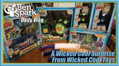 A Wicked Cool Surprise from Wicked Cool Toys  I came home to a box from Wicked Cool Toys. They sent me a thank you gift for all the work I've done with them over the past year and they are excited about working with me in 2017. Wicked Cool Toys make some fun toys for Wild Kratts and many other properties. They even make this toy called a Cat Paw. It is pretty silly but I know the kids are gonna get a huge kick out of it.