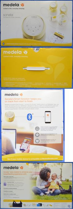 Electric Breast Pumps 23591: New Medela 58200 Sonata Deluxe Double Electric Smart Breast Pump -> BUY IT NOW ONLY: $214.95 on eBay!