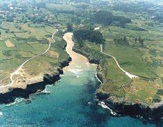 Playa de Guadamia Llanes Asturias Costa, Asturias Spain, Paraiso Natural, River, Outdoor, Turismo, Cities, Fotografia, Pictures