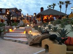 View from Sunset Da Mona Lisa restaurant in Cabo San Lucas, Mexico