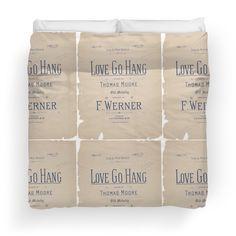'Love Go Hang' Duvet Cover by Ioan Rosca Nastasescu It Crowd, Framed Prints, Canvas Prints, Duvet Covers, Love, Photo Canvas Prints, Amor, El Amor, I Like You