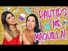 RETO!! SABE MAQUILLAR? MAQUILLAJE en 5 MINUTOS! Pautips y Mariale - YouTube