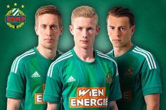 Rapid Wien 2015/16 adidas Home and Away Kits