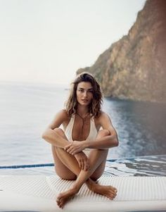 Andreea Diaconu by Cass Bird for Porter No.9 Summer Escape 2015