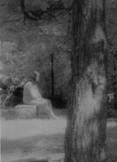 A spirit seen frequently sitting on gravestones at Bachelors Grove Cemetery, outside of Chicago Illinois.
