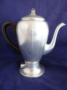 Vintage MirroMatic Electric Coffee Percolator by SecondWindShop, $24.50