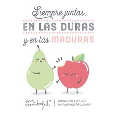 "24.7 mil Me gusta, 1,423 comentarios - Mr. Wonderful Official (@mrwonderful_) en Instagram: ""Unidas para lo bueno y para lo malo #mrwonderfulshop #felizjueves Always together, through thick…"""