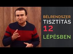 Így tisztítsd meg a Bélrendszered 12 lépésben - YouTube Natural Healing, Health Care, Remedies, Men Sweater, Youtube, Youtubers, Youtube Movies, Health