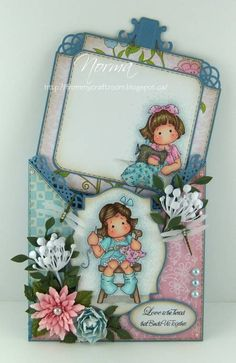 From My Craft Room - Tilda makes a blueberry blanket, Magnolia Stamp