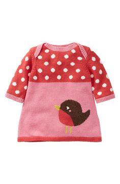 Mini Boden Knit Sweater Dress (Toddler) | Nordstrom