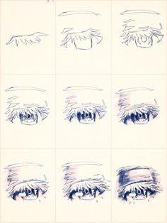 Tipo olho de mangá. Feat. Danyashs.